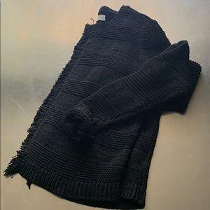 LOFT cropped cardigan sweater